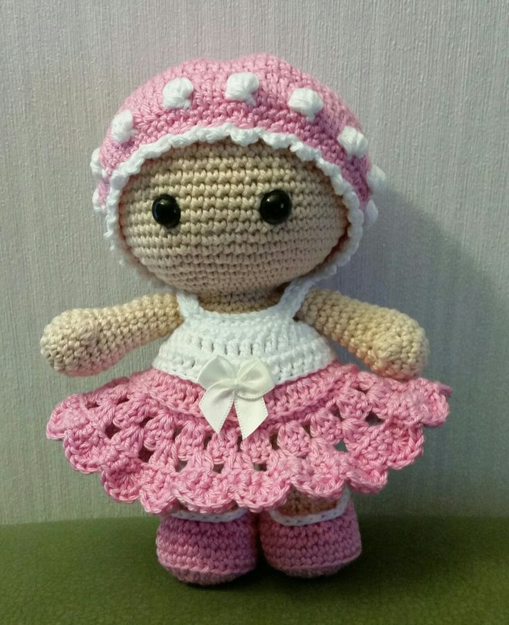 Amigurumi Baby Doll Pattern : Best images about big head doll weebee on pinterest