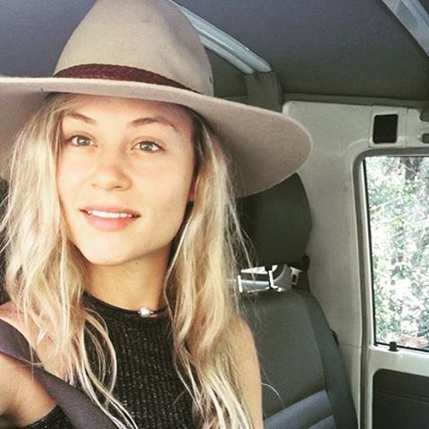 """The """"Riverina"""" is looking perfect on Holly over the weekend @misshollywoodmeow #akubra #madeinaustralia #countrylife"""