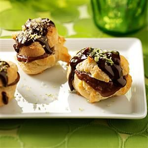 11 Best Recipes for Cream Puffs - Learn how to make easy filled cream puff recipes from scratch. From classic state fair cream puffs, to flavors like chocolate, java and lemon, this fun dessert has many possibilities.