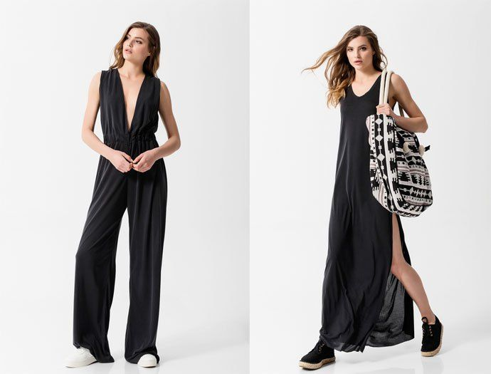 EMENAY SS16 collection | Minimal lines in lush fabrics with ethnic details are right at the core of the EMENAY SS16 collection which is inspired by the casual feel of the Greek summer islands! The EMENAY SS16 collection follows fashion trends without cutting down on its minimal character. Long dresses, tops with unexpected cuts, comfy trousers and culottes follow your move, cardigans that embrace your body and fringed jackets that dance with every step you take, all in minimal lines that…
