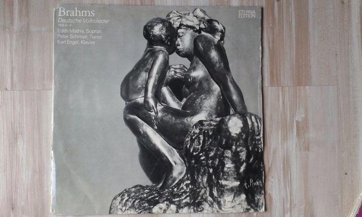 JOHANNES BRAHMS - DEUTSCHE VOLKSLIEDER,1975 ETERNA EDITION