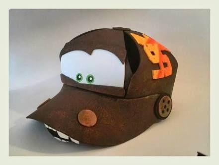 Resultado de imagen para gorras de foami de cars