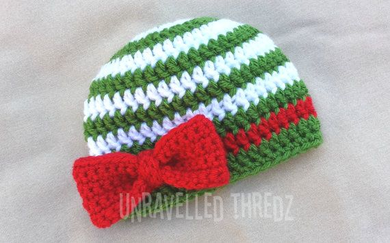 1000 Ideas About Crochet Christmas Hats On Pinterest