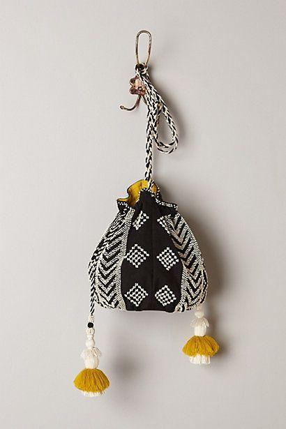 Nolina Beaded Crossbody Bag #anthrofav #greigedesign