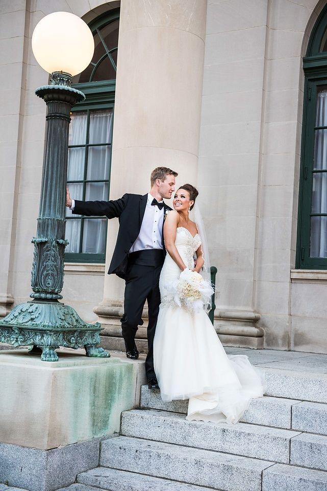 Millenium Center Winston Salem NC Bride And Groom Poses Wedding Photographer Triad Weddings Yasmin Leonard Photography