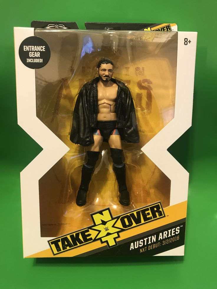 WWE ELITE Target NXT Takeover Exclusive W/ BAF Austin Aries