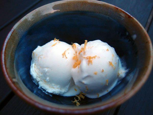 mascarponeis, is, mascarpone, dessert, citron