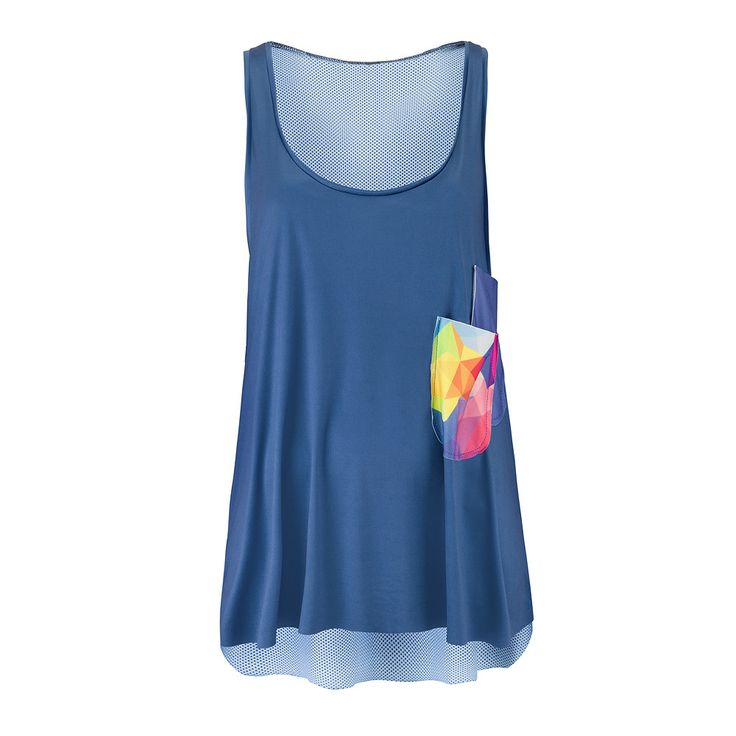 NOLY Tank Top Geobomb - Women's fitness and yoga clothing. Great for active gym workouts or aerobic sessions. Romance sport and fashion