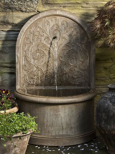 17 best ideas about outdoor wall fountains on pinterest