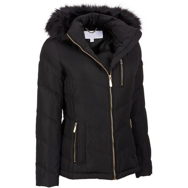 Famous Maker Plus Size Puffy Hipster Coat w/ FauxFur Hood ($84) ❤ liked on Polyvore featuring plus size women's fashion, plus size clothing, plus size outerwear, plus size coats, plus size, puffy coat, puffer coat, puff coat and dkny hooded faux-fur-trim parka coat