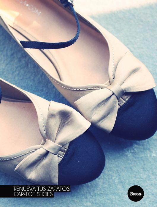 Renueva tus zapatos: Cap-toe Shoes
