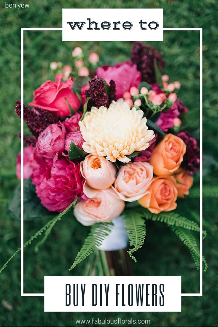 Where to Buy Bulk wholesale diy flowers! www.fabulousflorals.com The DIY Bride's…