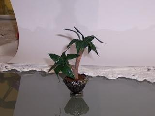EdenMiniaturas: tutorial planta (tronco del brasil)