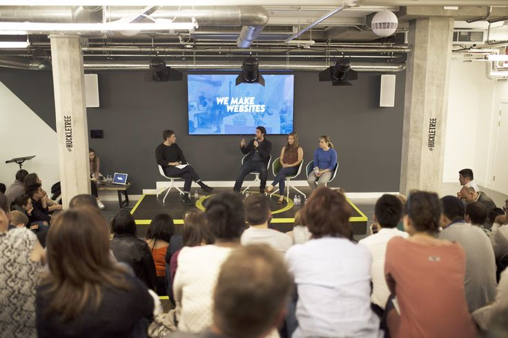 At the14th Shopify meetup in London, 3 key panellists