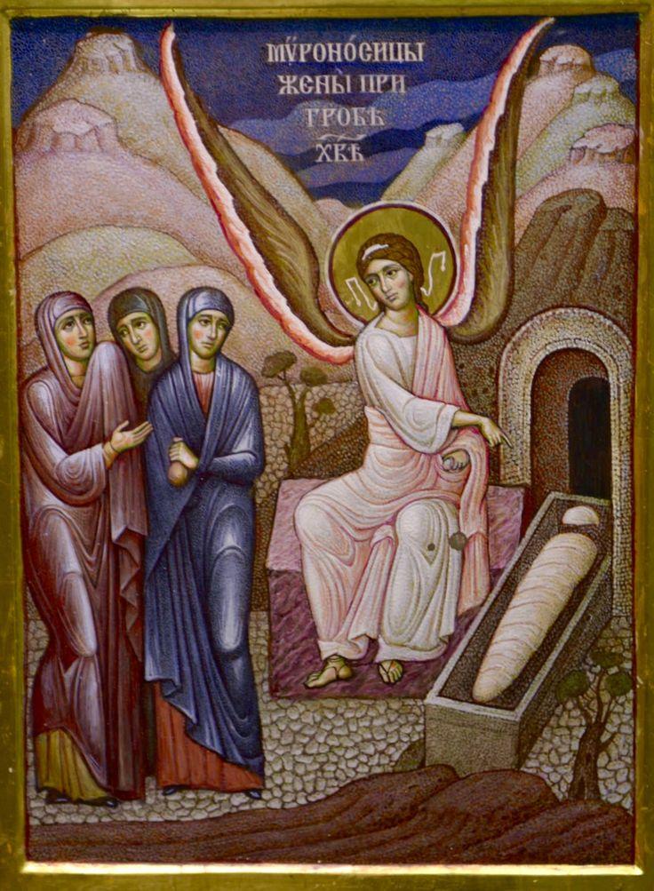 Holy Myrrhbearers at the Tomb