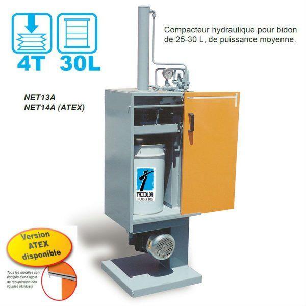 compacteur-bidon-hydraulique-NET13A-14A