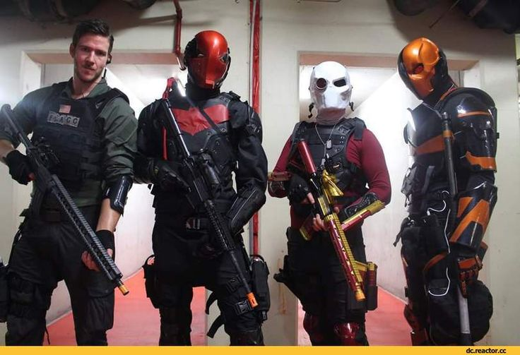 Rick Flagg, Red Hood, Red Hood, Jason Todd, Bat Family, Beth family, DC Comics, DC Universe, the universe DiSi, fandom, Deadshot, Deadshot, Floyd Lawton, Deathstroke the, Defstrouk, Slade Wilson, DC Cosplay, Cosplay