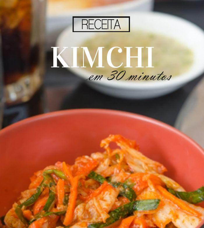 O Kimchi {김치} é um acompanhamento tradicional coreano bem apimentado feito com vegetais e temperos. Aprenda a fazer um gutjeori kimchi em 30 minutos!