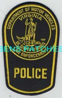 78 best images about law enforcement patch badge for Virginia department of motor vehicle