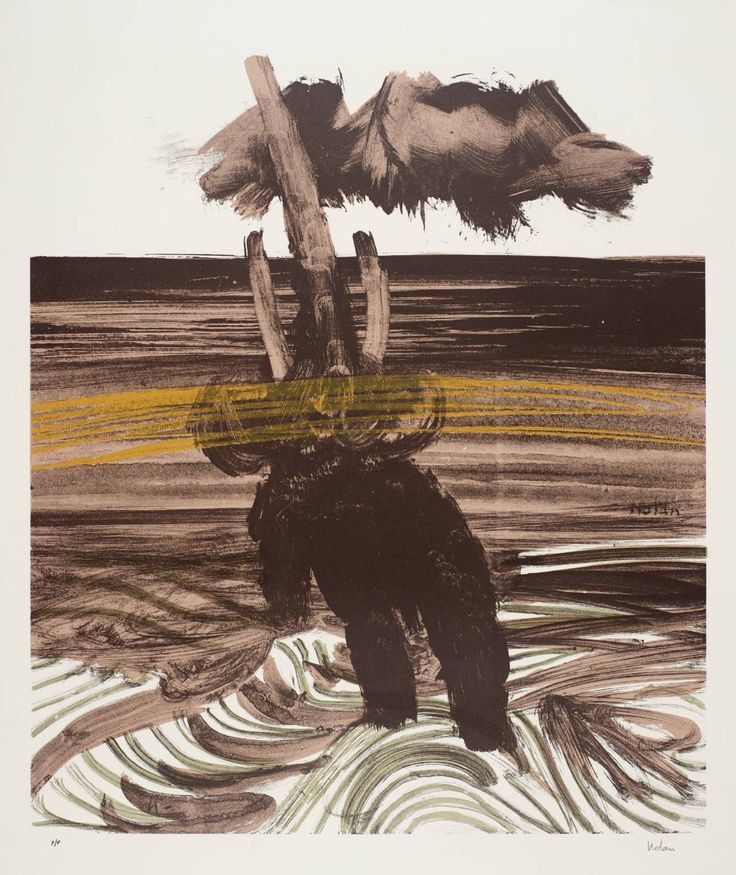 Sir Sidney Nolan, Elephant, 1963-5 --  © The estate of Sir Sidney Nolan. All Rights Reserved 2010 / Bridgeman Art Library