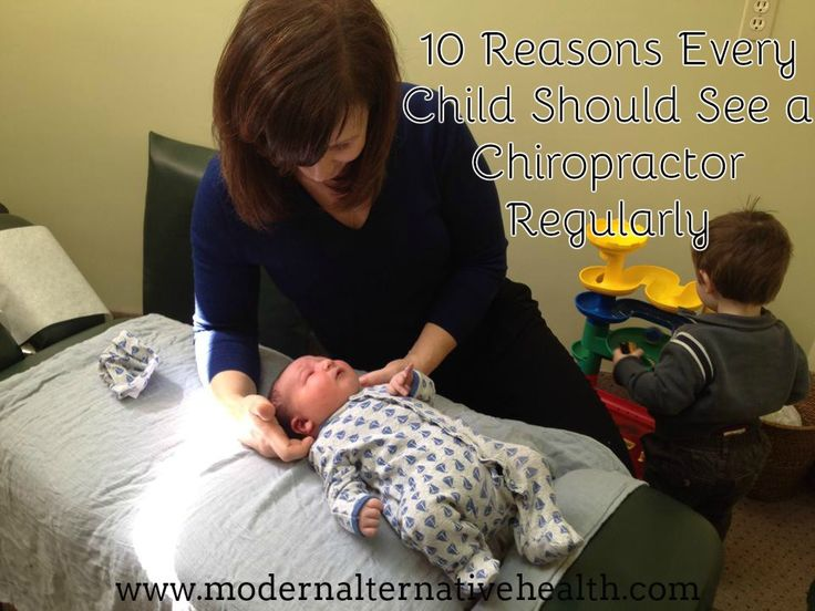10 Reasons Every Child Should See a Chiropractor Regularly - Modern Alternative Health