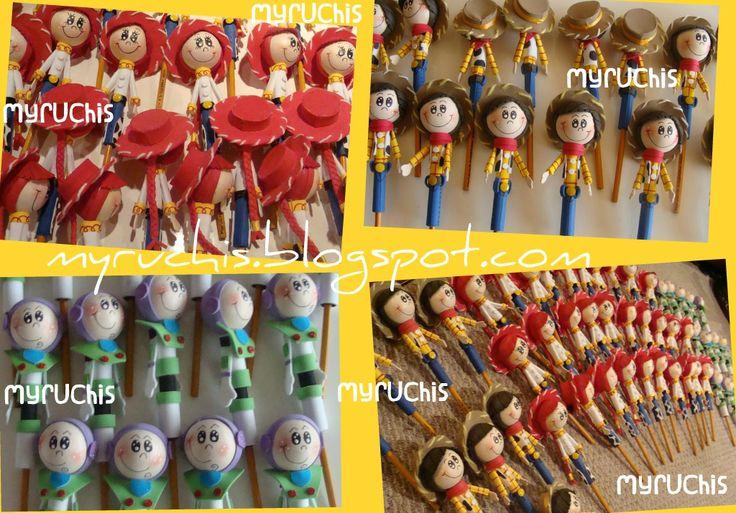 Fiesta Toy Story. láices 3d. myruchis.blogspot.com