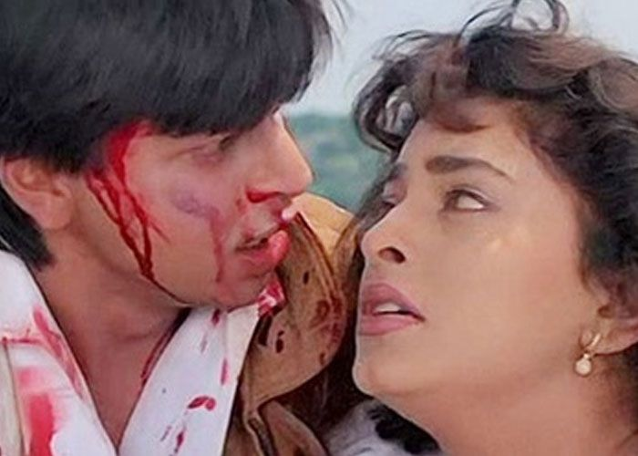 Darr (1993) - A psychological thriller about an unrequited love making a crazy lover's obsession seem convincing, beautiful and touching. One of yash Chopra's most defining works till date.