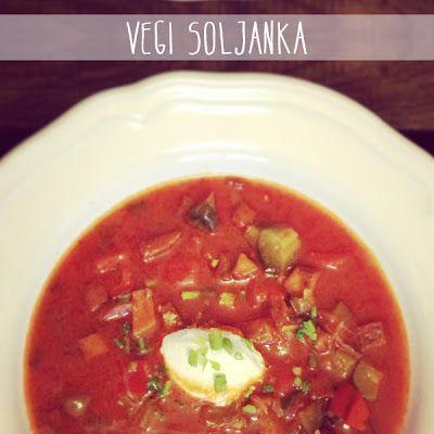 Rezept für eien super leckere vegane oder vegetarische Soljanka