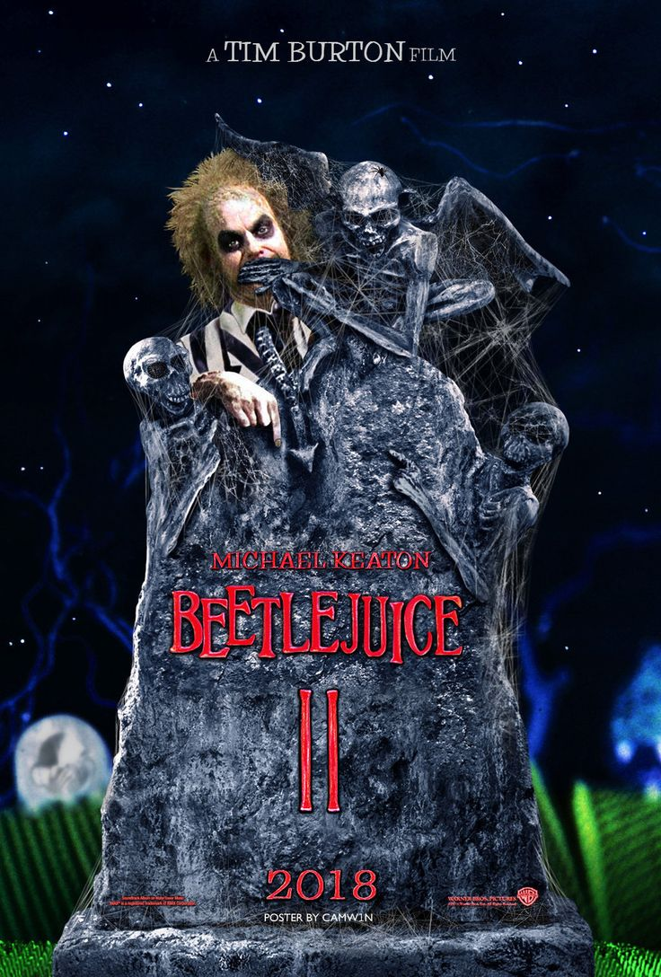 Can't remember I've seen rumors that it is true and that it isn't. Burton said he would have to have some of the main cast agree to come back and reprise their characters so I guess we will see. BeetleJuice 2 (2018) Poster by CAMW1N