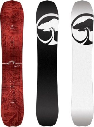 Arbor Men's Bryan Iguchi Pro Rocker Snowboard  159 Cm