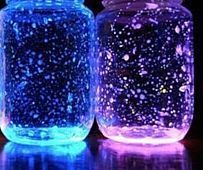 Glow in the Dark DIY Snow Globe | AllFreeChristmasCrafts.com