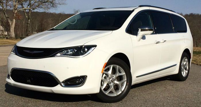2017 Chrysler Pacifica Limited White Chrysler Pacifica Best