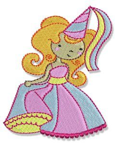 Embroidery | Free Machine Embroidery Designs | Bunnycup Embroidery | My Fair Princess