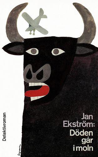 ROLF LAGERSON Swedish mid-century illustrator