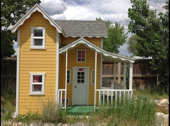 Wooden Playhouse (3) | Decoration Ideas Network