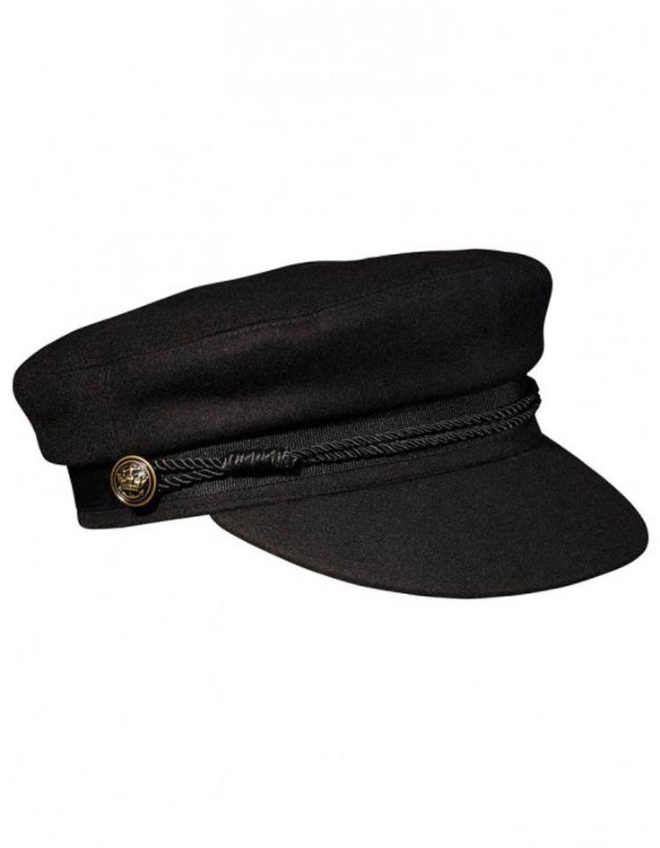 Gorra marinera negra de Maison Scotch