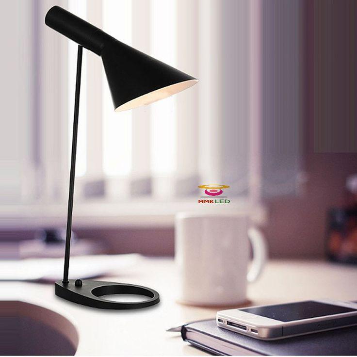 New Indoor Table Lamp Modern LED Table Light Creative AJ Modern Sconce Office Lamp LED bulb free #Affiliate