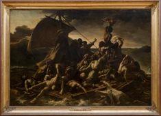 """""""Le Radeau de la Méduse"""" (The Raft of the Medusa) - Théodore Géricault - 1819 - Louvre, Paris"""
