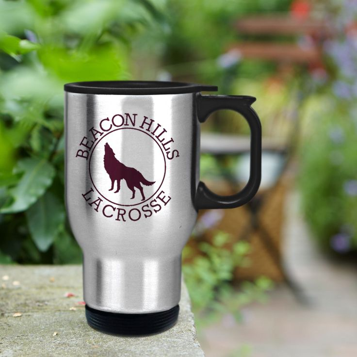 Teen Wolf Beacon Hills Mccall 11 stainless steel travel mug