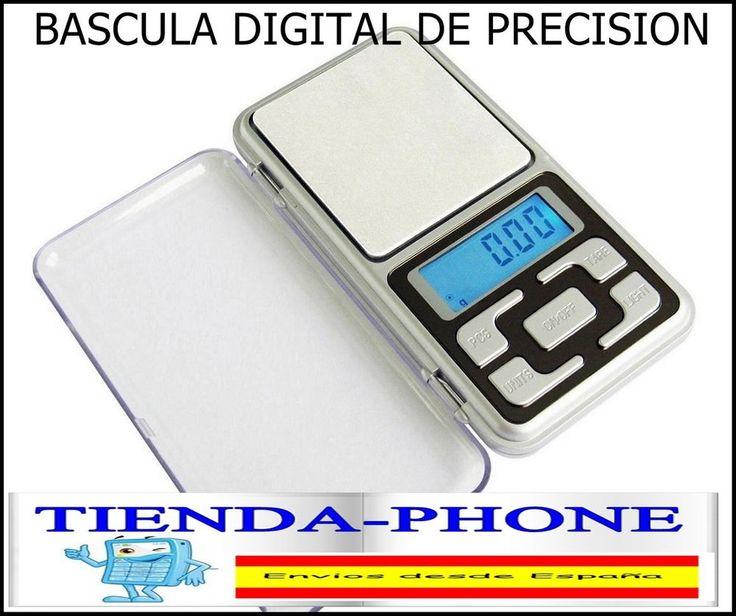 BALANZA DIGITAL DE PRECISION 0,1gr - 500 gr.,Báscula Bascula Peso ESPAÑA ENVIOS