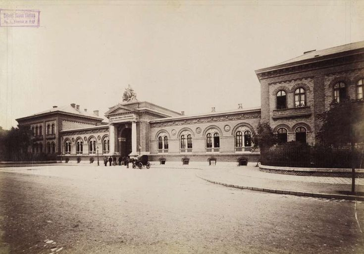 Nagyvárad tér, Szent István kórház. A felvétel 1894 után készült. A kép forrását kérjük így adja meg: Fortepan / Budapest Főváros Levéltára. Levéltári jelzet: HU.BFL.XV.19.d.1.07.141