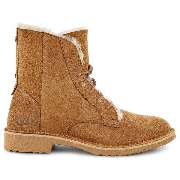 UGG Quincy found on Polyvore featuring shoes, boots, ankle booties, ugg, ugg shoes, lightweight shoes, rugged shoes and light weight shoes
