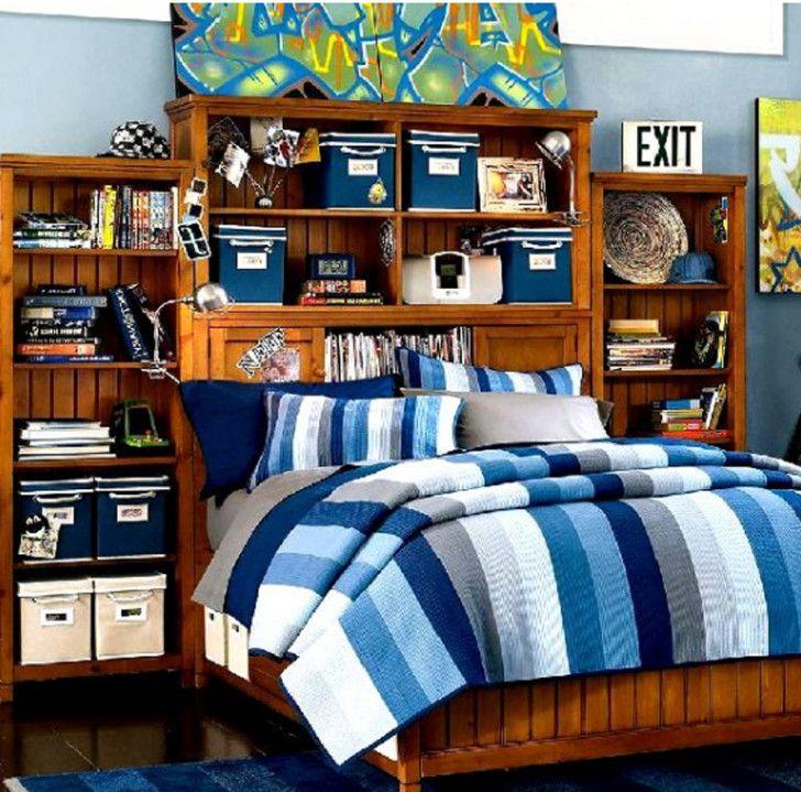 Boys Bedroom Theme Ideas For Your Kids: Easy On The Eye Boys Teenage Design  New