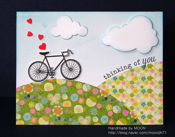 I love bicycle stamp^^