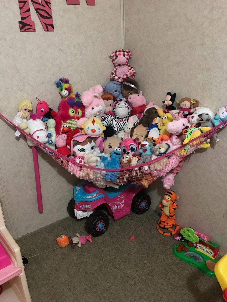amazon    customer reviews  miniowls pink storage hammock xl toy organizer  also 145 best toy hammock images on pinterest   toy hammock stuffed      rh   pinterest co uk