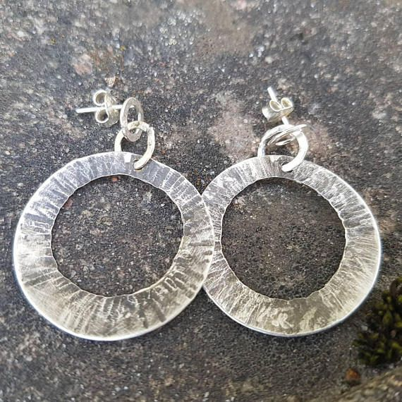 Check out this item in my Etsy shop https://www.etsy.com/listing/542014268/bohemian-organic-circles-earrings