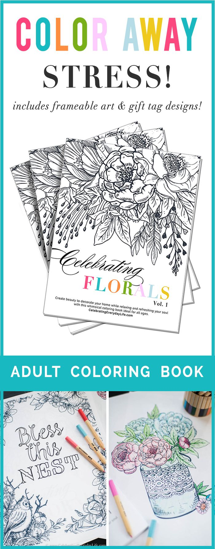 Farmhouse Style Adult Coloring Pages To Help You Be Creative And Calm Can Honestly