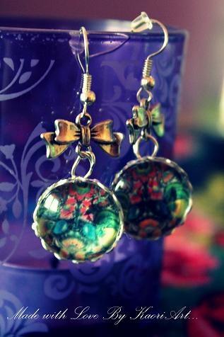 Folk earrings 3