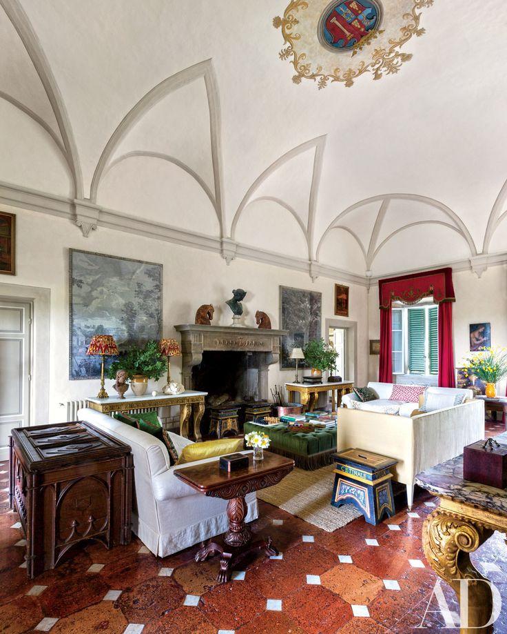 1000 images about the italian mantel on pinterest for Italian villa interior