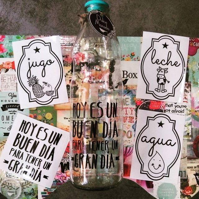 Ya tenemos nuevamente en stock en nuestros vinilos transparentes para botellas ❤❤ .  #deco #home #design #diseño #decor #decoration #decoracion #hogar #cool #onda #colores #retro #vintage #old #homesweethome #handmade #homemade #homevintage #hechoconamor #love #dulcemorada #puertodefrutos #vinilos #botellas